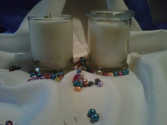 Elegant Soy Candle 12 oz with glass lidPrice $12.00 each